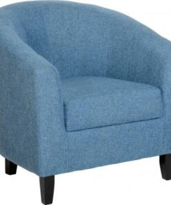 Tempo Blue Tub Chair